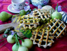 Пироженое с грушами