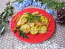 Zucchini im Backofen