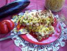 Fırında Patlıcanlı Makarna