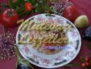 Reis mit Aubergine im Backofen