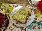 Кекс с сыром халлуми