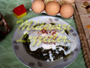 Pochiertes Ei mit Spinat