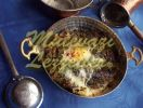Omelette aux �pinards