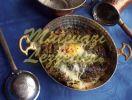 بيض سبانخ