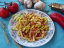 Agäische Nudeln mit Zucchini