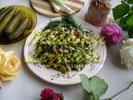 Salade De Lentille Aux Cous-Cous