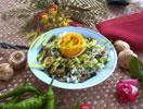 Mantarli Pirinc Salatasi