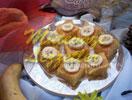 Sponge Cake with Banana