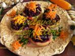 Салат из артишока со свеклой