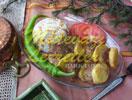 Pan albóndigas con patatas