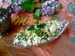 Салат из сыра