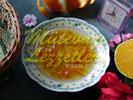 Mermelada de cáscara de naranja