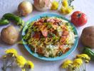 Salsiccia Soute nel Purè