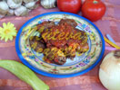Inegol City Meatballs with Tomato Paste