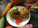 Sebzeli Kabak Dolması (fotoğraf)