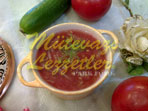 Soğuk Domates Çorbası (fotoğraf)
