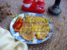 Omelett mit Sesamkörner