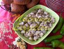 Hähnchen mit Sesamkörner