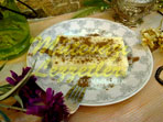 Молочный десерт из манной крупы