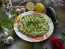 Салат из баклажанов с тахином
