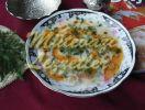 Frische Ackerbohnensuppe