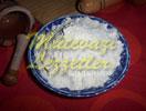 Pastel de crema con mandarina
