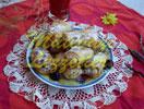 Minirollen mit Sauerkirschen