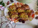 Dessert Aux Tahini Et Aux Cerises