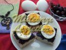 Канапе с Яйцами