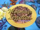 Пшеничный Плов с Виноградными Листьями
