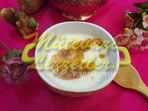 Minestrone di farina con Yogurt