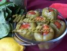 Stuffed Green Peppers With Olive Oil