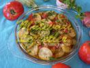 Zucchini mit Olivenöl