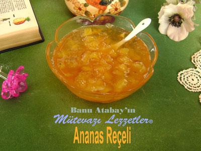 Ananas Reçeli (görsel)
