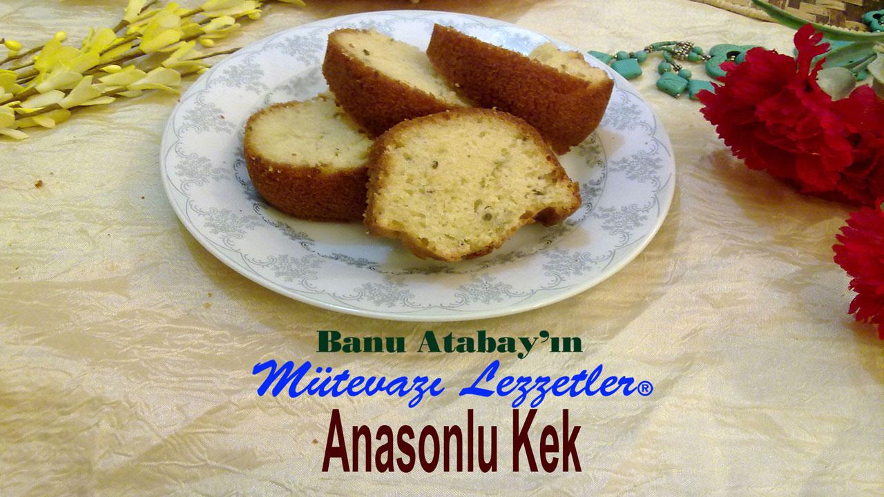 Anasonlu Kek (görsel)
