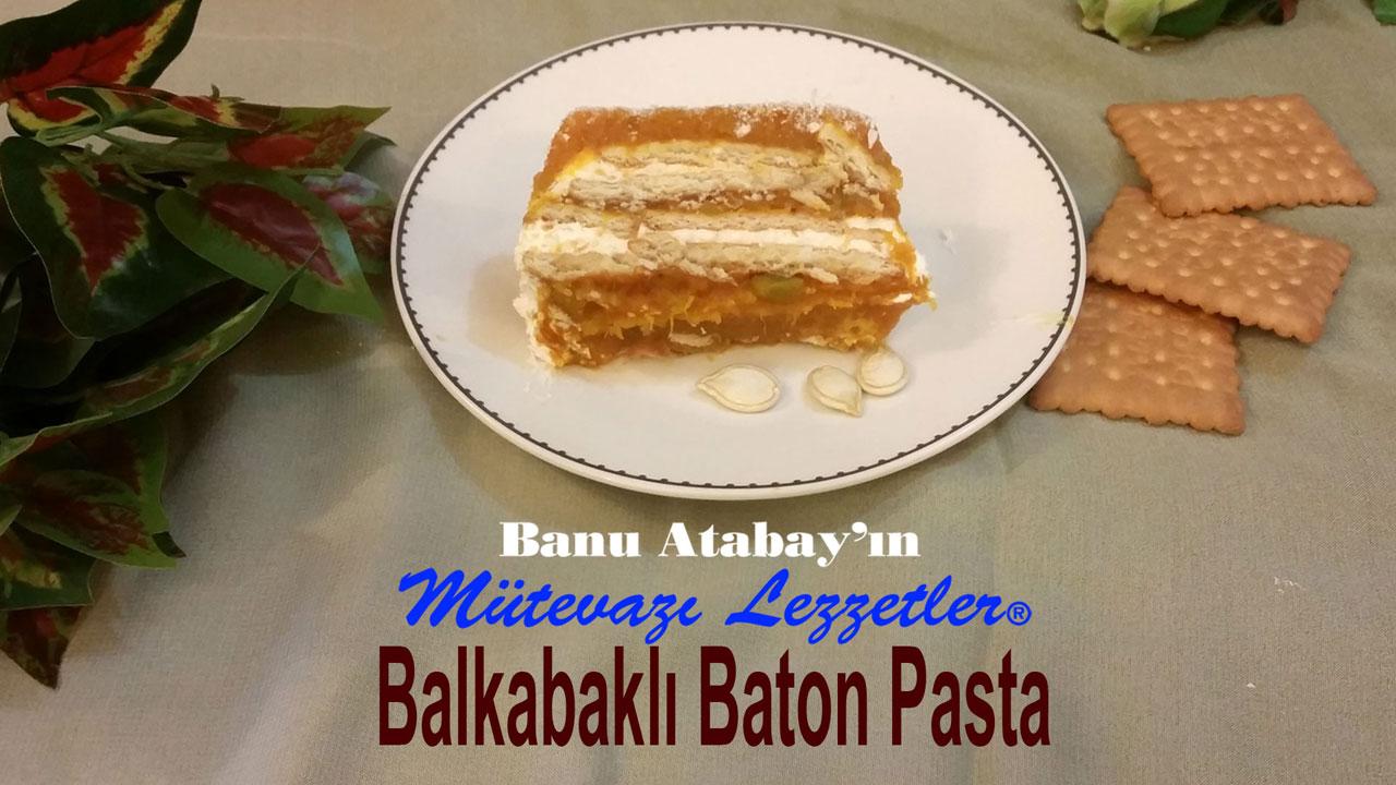 Balkabaklı Baton Pasta (görsel)