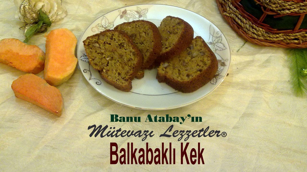 Balkabaklı Kek (görsel)