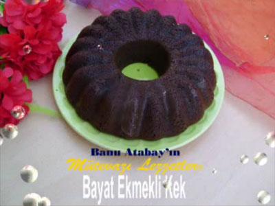 Bayat Ekmekli Kek (görsel)