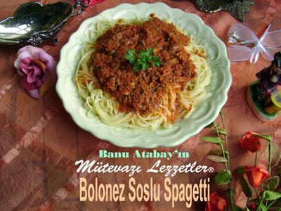 Bolonez Soslu Spagetti (görsel)