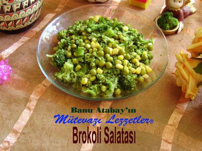 Brokoli Salatası (görsel)