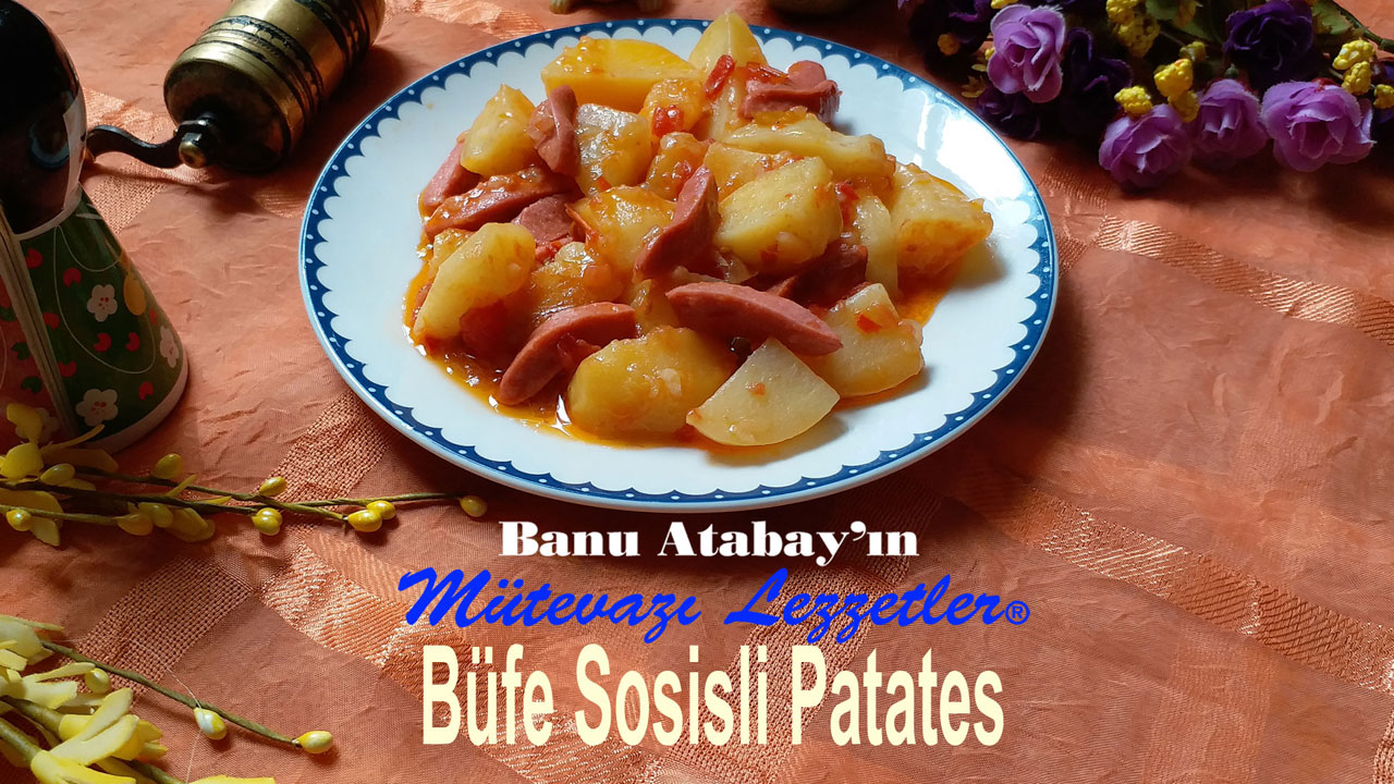 Büfe Sosisli Patates (görsel)