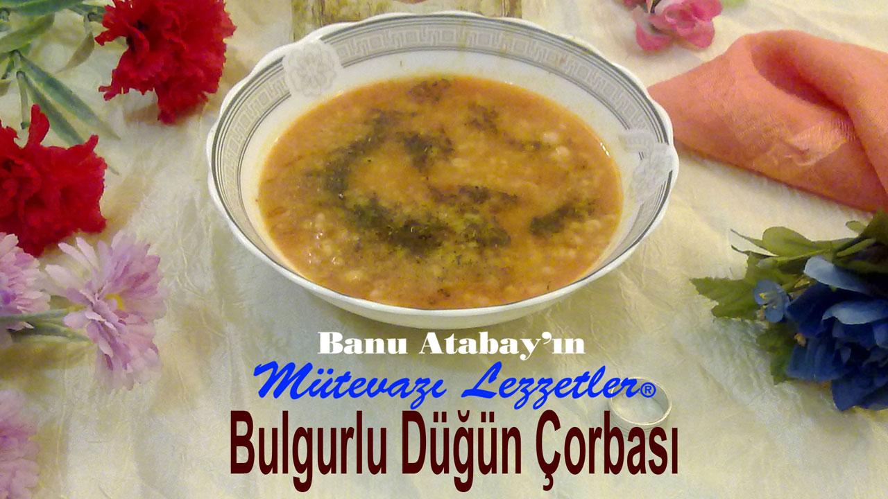 Bulgurlu Düğün Çorbası (görsel)