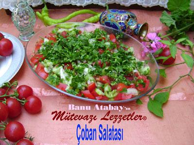Çoban Salatası (görsel)