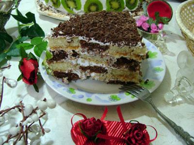 Damalı Pasta (görsel)