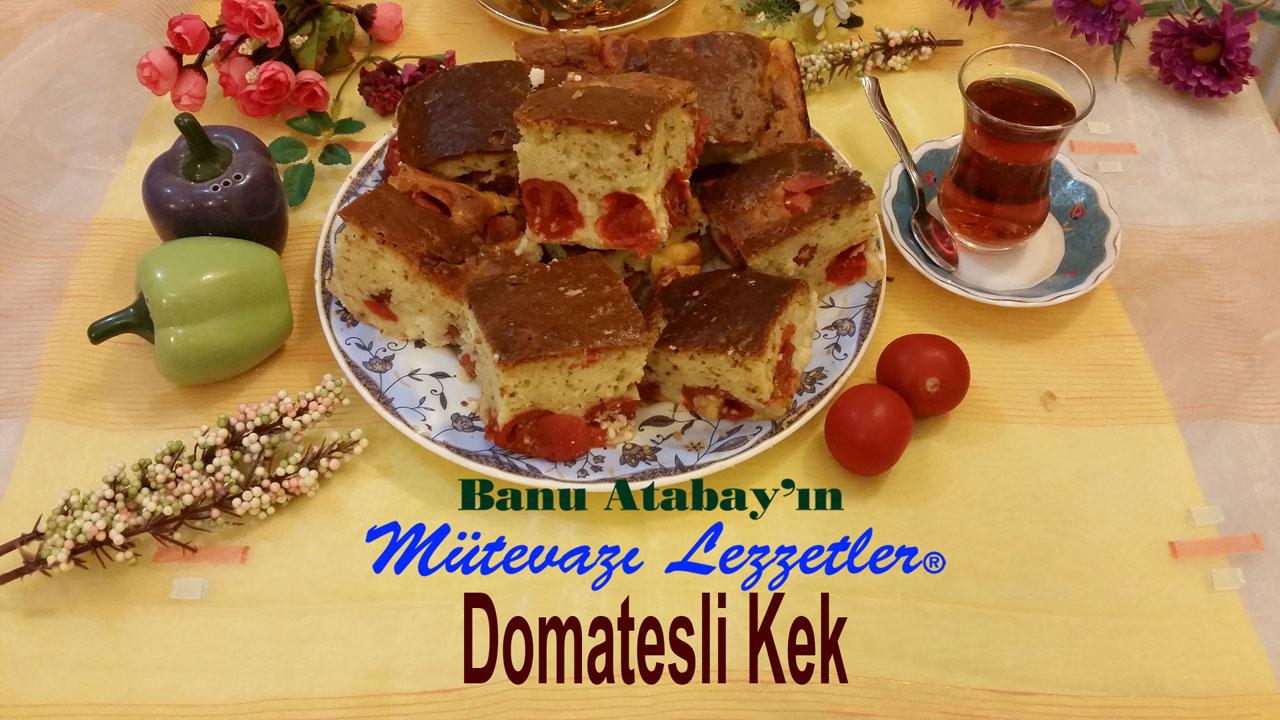 Domatesli Kek (görsel)