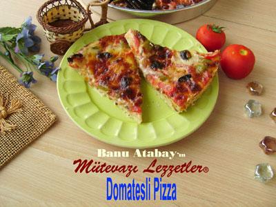 Domatesli Pizza (görsel)