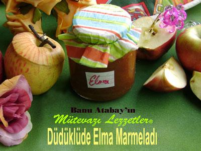 Düdüklüde Elma Marmelatı (görsel)