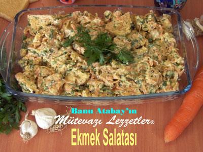 Ekmek Salatası (görsel)