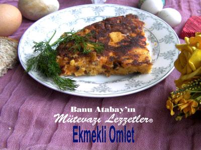 Ekmekli Omlet (görsel)
