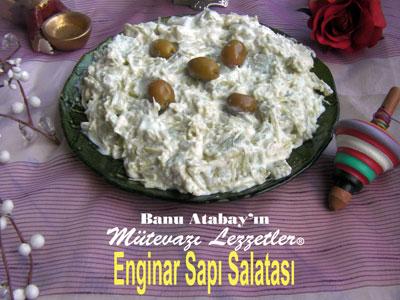 Enginar Sapı Salatası (görsel)